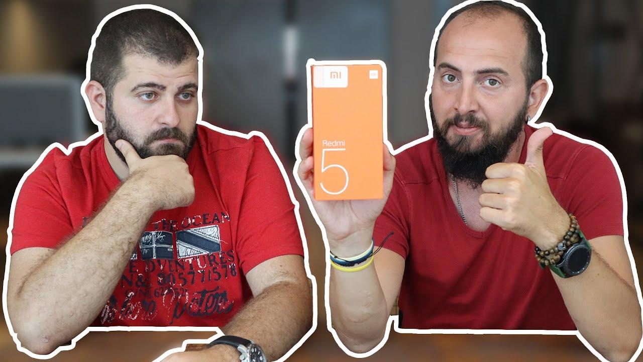 Xiaomi Redmi 5 kutu açılışı - Sürprizimizi kaçırmayın!