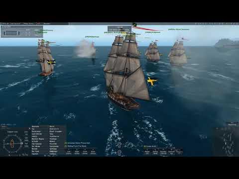 Naval Action:PB- Harbour Island Sweden v Spain.