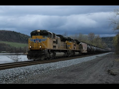 A Nice Day Trip On The Csx Mohawk Subdivision 4222017 Youtube