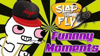 TWERKING LIKE MILEY CYRUS!?! - Slap The Fly Game Stoner Funny Moments Gameplay! 😂😂😂😂