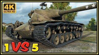 T57 Heavy - 9 Kills - 1 VS 5 - World of Tanks Gameplay - 4K Video