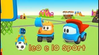 lo il camioncino curioso e gli Sport - Cartoni per bambini