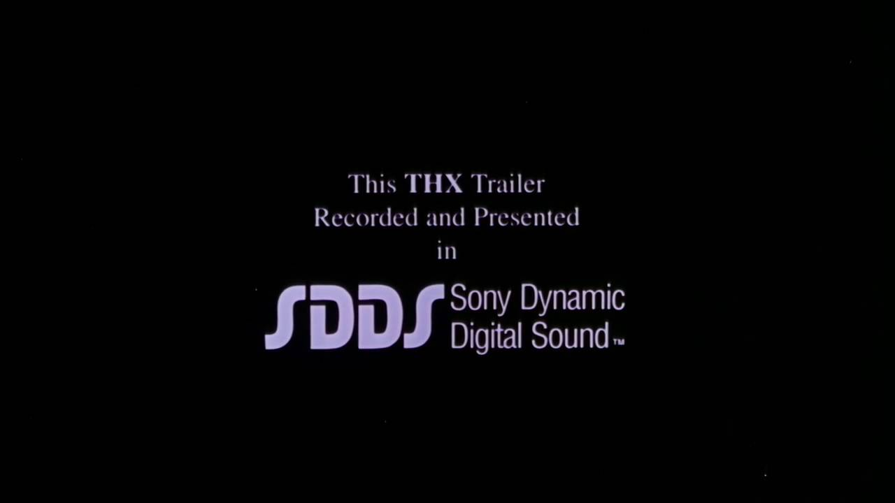 this thx trailer recored and presented in sdds sony