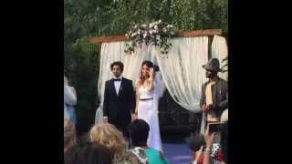 Фото со свадьбы Дантеса и Дорофеевой