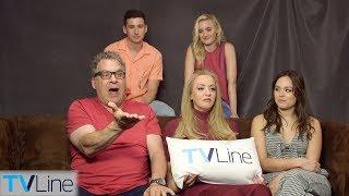 'The Goldbergs' Cast Talks Spinoff, Comic-Con Hate, More | Comic-Con 2018 | TVLine