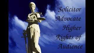 Colin Nasir: Solicitor Advocate Higher Rights of Audience