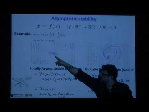 Optimization in dynamical systems - Amir Ali Ahmadi