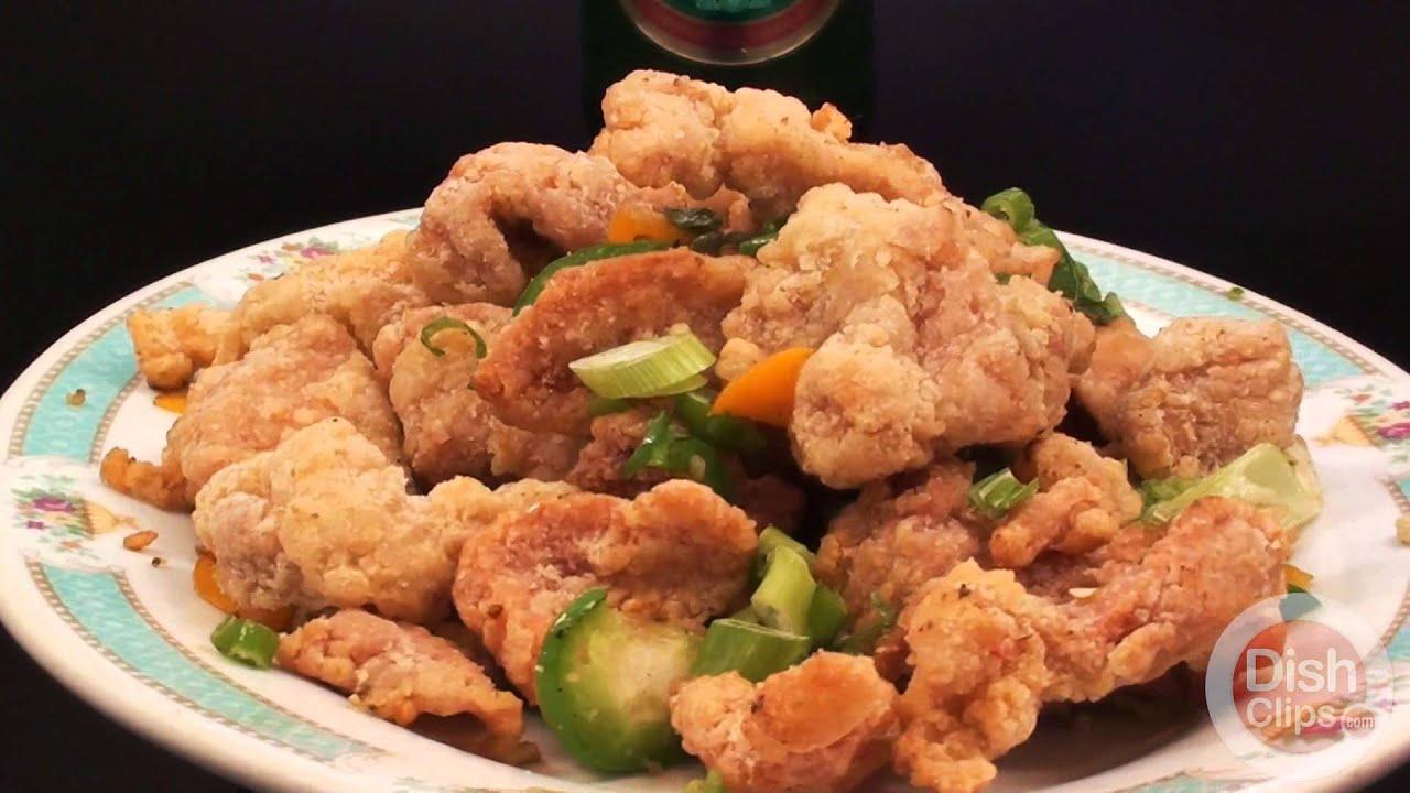 Spicy salted pork chop recipe