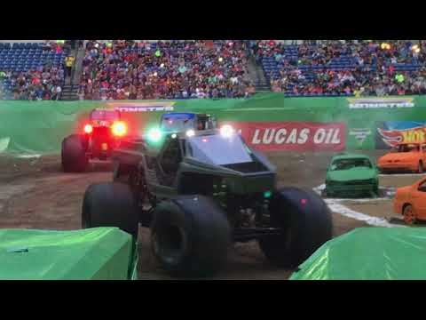 Monster Jam Indianapolis show 2 intros
