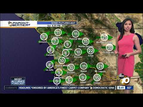 10News Pinpoint Weather for Sat. Apr. 20, 2019