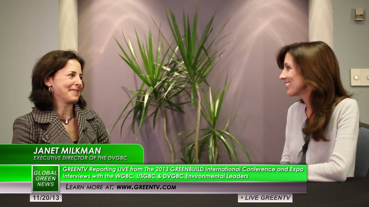 Janet Milkman - Interviewed at Greenbuild 2013 International ...