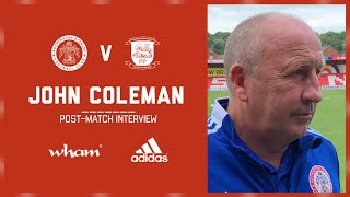 INTERVIEW: Coley's reaction on the draw with Preston North End