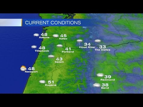 Friday Afternoon Weather Update January 20, 2017