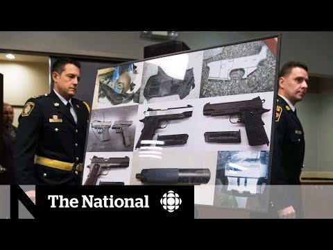 How Guns Are Getting Across The Border    Guns In Canada