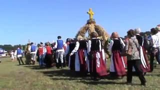 KOROWÓD Z WIEŃCAMI. Dożynki Wojewódzkie 2016. Radawiec k.Lublina 28.08.2016.