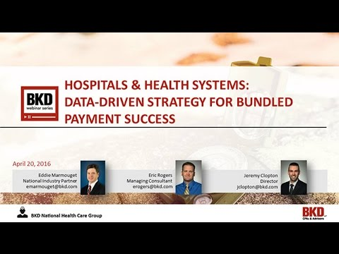 Hospitals & Health Systems:  Data-Driven Strategy for Bundled Payment Success