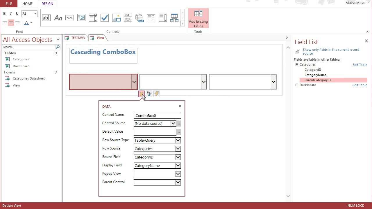 How To Design Database For Web Application