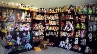 Disney plush collection soft toy room