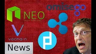 Cryptocurrency News - Crypto is Deadly, Props, Ripple, Vechain, NEO, OmiseGO