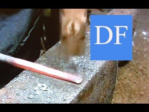 Blacksmithing for beginners:  Basic Forging 1
