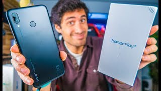 HONOR 10 MAIS BARATO!? Huawei Honor Play - Unboxing