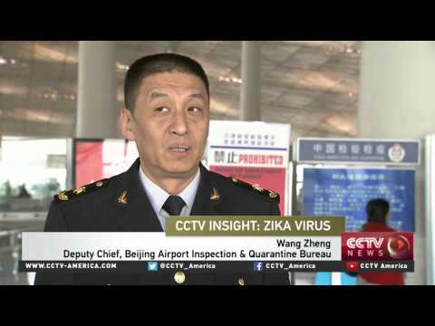 China increases Zika screening at borders