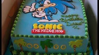 Como Assar um Bolo do Sonic