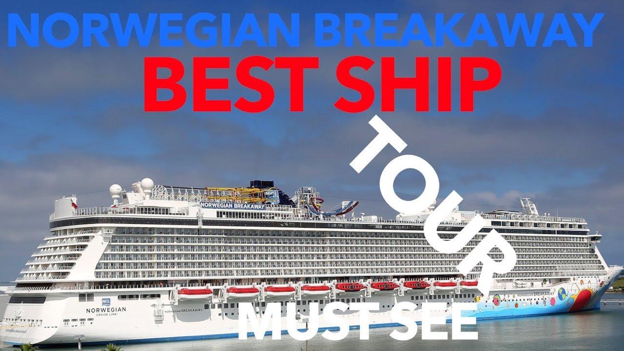 Norwegian Breakaway Review Full Walkthrough Tour Norwegian