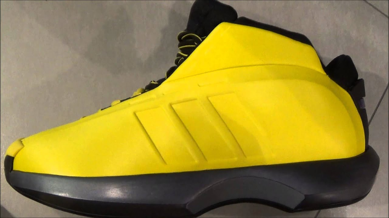 separation shoes 8ed40 21225 Adidas Crazy Kobe 1 Sunshine Sneaker Review With Dj Delz HotOrNot