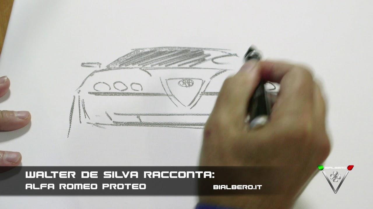 Walter De Silva Racconta Vi Disegno L Alfa Romeo Proteo Youtube