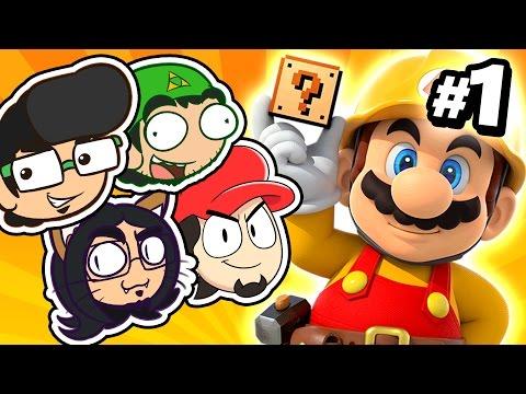 🏠 KOJIMA NEM É TUDO ISSO | Super Mario Maker #01 ft Sr. Wilson