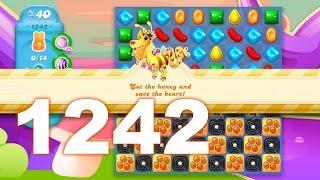 Candy Crush Soda Saga Level 1242 (3 stars, No boosters)