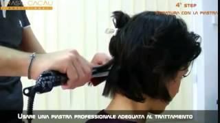 Обучение  Кератиновое выпрямление волос  Brasil Cacau mp4