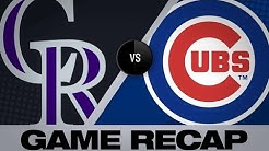 Lambert's sparkling debut lifts Rox past Cubs - 6/6/19