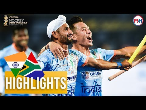India v South Africa | Odisha Men's Hockey World Cup Bhubaneswar 2018 | HIGHLIGHTS