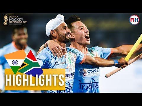 India v South Africa | Odisha Men's Hockey World Cup Bhubaneswar 2018 | HIGHLIGHTS Mp3