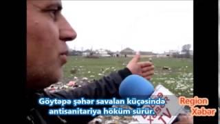 Göytəpə şəhərində antisanitariya höküm sürür 2