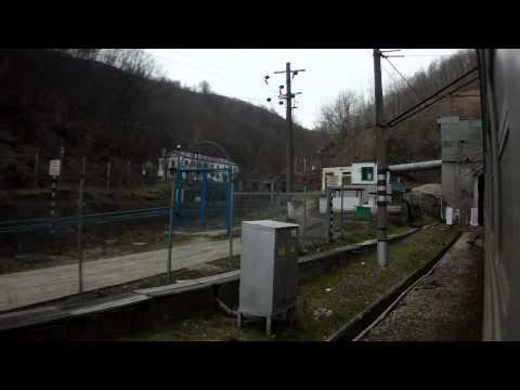 Туапсе - Горячий Ключ вид из окна на горы эд4м HD Video