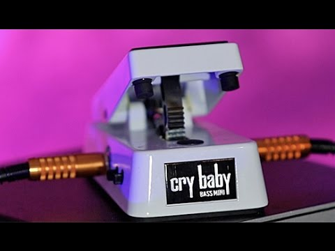 Review Demo Dunlop Cry Baby Bass Mini Wah Youtube