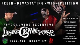Insane Clown Posse Tell-All Interview *Faygoluvers Exclusive*
