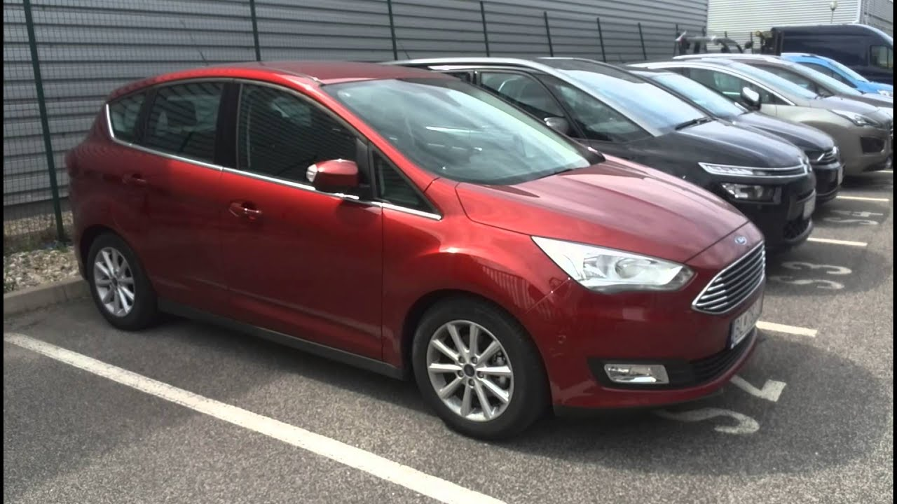 ford c max titanium 1 0 ecoboost red rush youtube. Black Bedroom Furniture Sets. Home Design Ideas