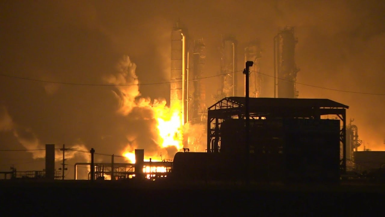 Explosion at Port Neches Chemical Plant Injures 8 in ...