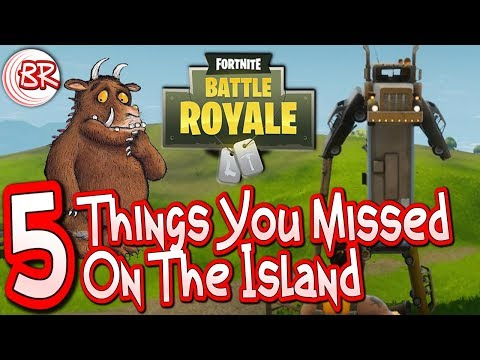 5 Things You Missed - Is that the Gruffalo? - Fortnite Battle Royale