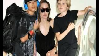 видео Дети Анджелины Джоли и Брэда Питта - цветные и геи