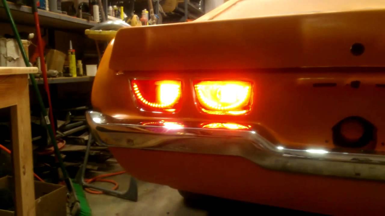 Diy Camaro Afterburner Halo Sequential Tail Lights Doovi