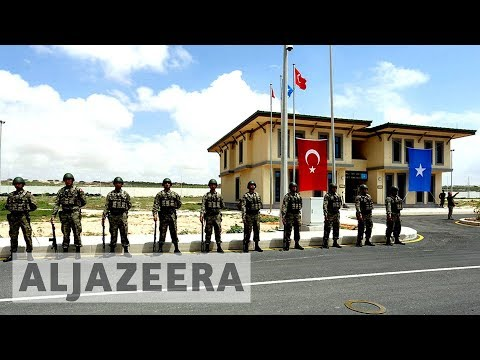 Turkey opens largest overseas army base in Somalia
