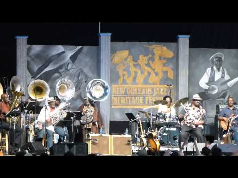 Taj Mahal & The Real Thing Tuba Band (New Orleans Jazzfest 2013)