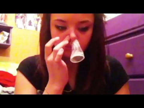 Do NOT Try The 'Condom-Snorting Challenge'
