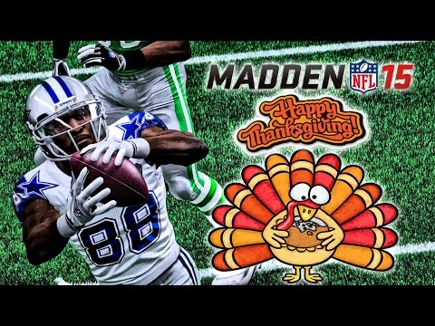 Madden NFL 15 - (60FPS) - | Eagles at Cowboys | Thanksgiving Day Matchup!