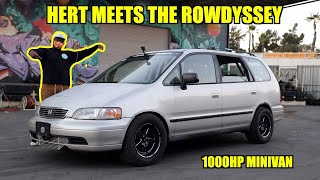 Hert's Reaction To The Rowdyssey! (1000hp AWD MINIVAN)
